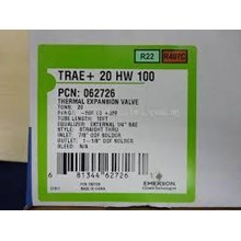 expansion thermal valve emerson model TRAE+ 20 HW 100