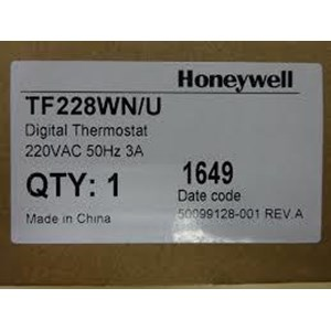 Thermostat Honeywell model TF228WN / U