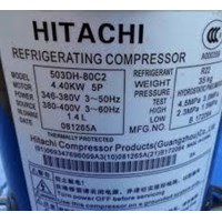 compressor hitachi model 503DH-80C2 (5 HP) 1