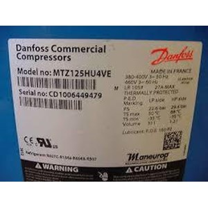 Jual compressor danfoss model MTZ125HU4VE  (10HP)