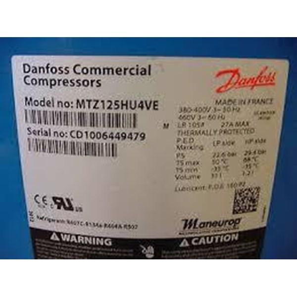Jual compressor danfoss model MTZ125HU4VE  (10HP)