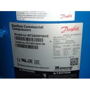 compressor danfoss model MTZ80HP4AVE (8HP)
