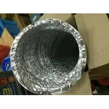 Flexible Duct Aluminium Non Isolasi