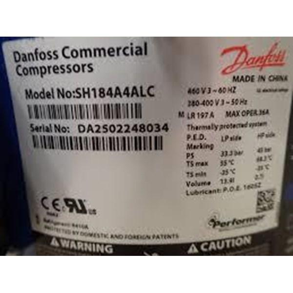 Jual Kompressor Danfoss SH185 ( 15pk ) R410A