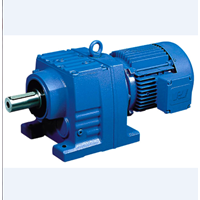Geared Motor Blue