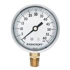 Jual alat ukur tekanan air aschroft -  Harga Pressure Gauge Aschroft 1