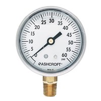 alat ukur tekanan air aschroft