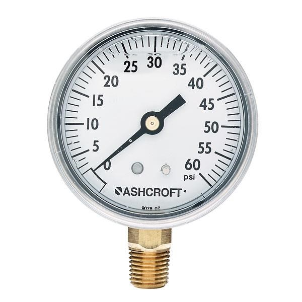 Jual alat ukur tekanan air aschroft -  Harga Pressure Gauge Aschroft