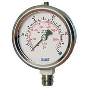 Dari Alat Ukur Tekanan Air - Distributor Pressure Gauge WIKA 2