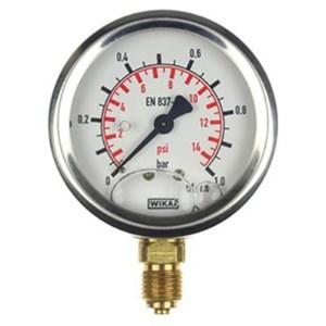 Dari Alat Ukur Tekanan Air - Distributor Pressure Gauge WIKA 1