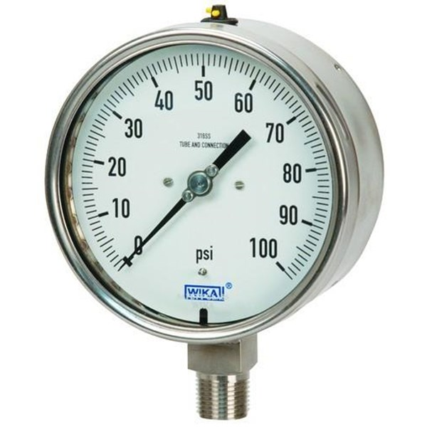 Alat Ukur Tekanan Gas - Supplier Pressure Gauge WIKA