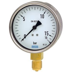 Dari Alat Ukur Tekanan Air - Jual Pressure Gauge WIKA 2