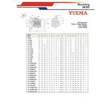 Motor Induksi YUEMA - Motor Elektrik YUEMA Murah & Lengkap