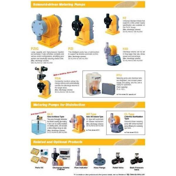 Dosing Pump TACMINA - Jual Dosing Pump TACMINA