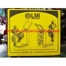 Agen Dosing Pump LMI Milton Roy P033-398 TI - Jual