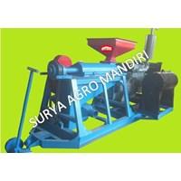 Mesin Huller Kopi + Engine 4D33 + Kopling Gearbox 1