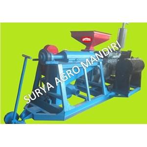 Mesin Huller Kopi + Engine 4D33 + Kopling Gearbox