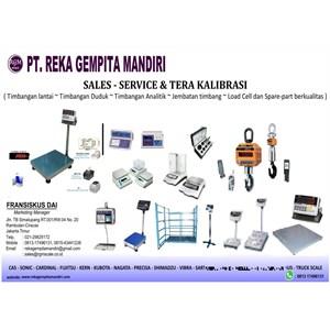 PUSAT SERVICE TIMBANGAN MURAH By PT. Reka Gempita Mandiri