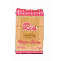 Ria Wafer Cream 300 Gram - 1 Dos Isi 10 Pcs