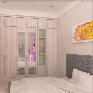 Tempat Tidur Model 4