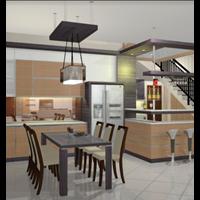 Jual Kitchen Set Model 8