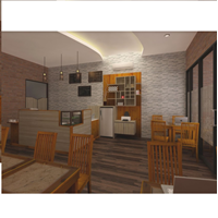 Jual Furniture Cafe Model 2