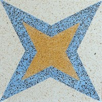 Encaustic Terrazzo Tiles ENTZ0017 Lantai Teraso
