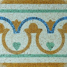 Encaustic Terrazzo Tiles ENBOR002