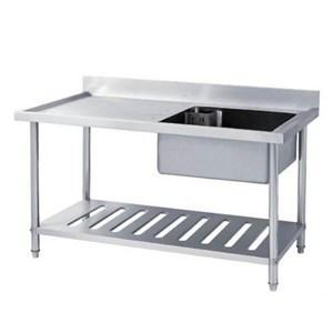 Dari Meja Stainless Sink Table Stainless Steel Sst-1255 0
