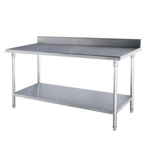 From Stainless Steel Working Table Stainless Steel Wk-120Bs 0