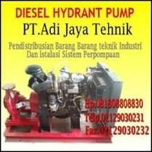 Jual Pompa Hydrant Diesel 500 gpm 750 gpm 1000 gpm