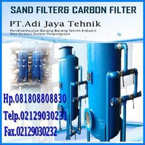 Harga Sand Filter tank & Carbon Filter tank