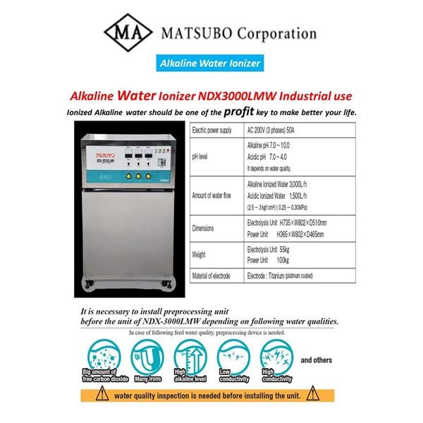 """Water Ionizer Machine / Alkaline Water Ionizer """"NDX-3000LMW"""""""