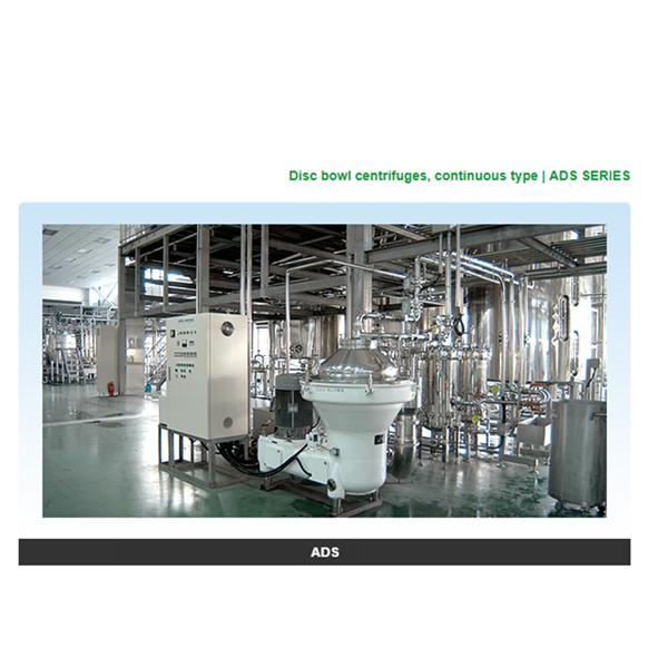 Mesin Separator MInuman Tea and Fruits Juice separator  Saito Separator ADS Series