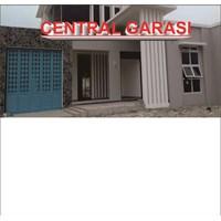 Jual PINTU GARASI MOBIL bahan Plat Besi finishing POWDER COATING 2