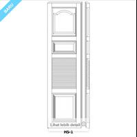 Pintu Garasi Minimalis 1