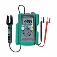 Digital Multimeter With Clamp Sensor Kyoritsu 2001 1