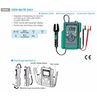 Jual Digital Multimeter With Clamp Sensor Kyoritsu 2001 2
