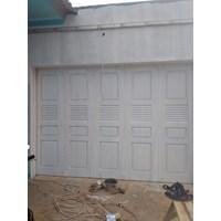 pintu garasi besi Murah 5
