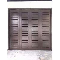 Jual pintu garasi besi 2