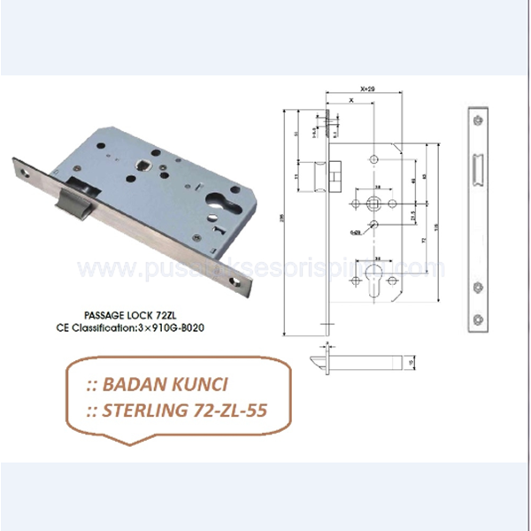 Sterling 72-ZL-55