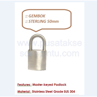 Distributor Gembok Sterling 50 3