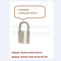 Distributor Gembok Sterling 60 3
