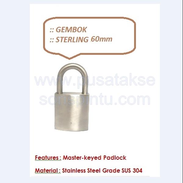 Gembok Sterling 60