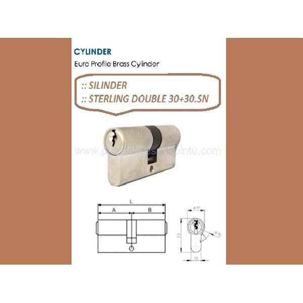 Sterling Handle pintu Double 30+30.SN