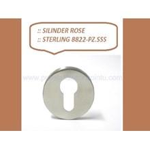 Sterling Silinder Rose 8822-PZ-SSS