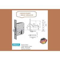 Handle Pintu Badan Kunci Wilka 1450/40-SS