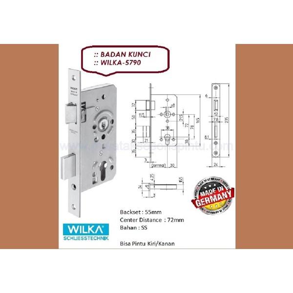 Kunci Badan Kunci Wilka 5790/55-SS