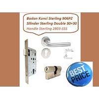 Handle Set Sterling 2803-SSS
