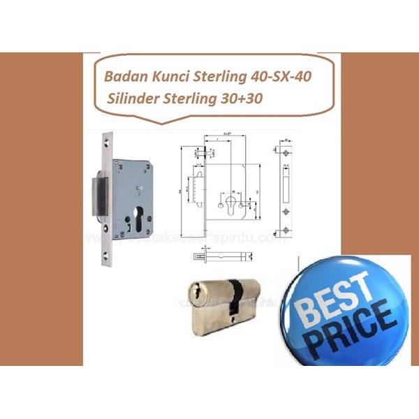 Sterling Handle Set 40-SX-40